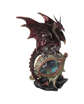 Figurine dragon rouge Eye of the dragon