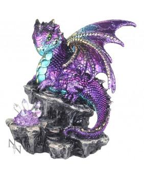 Figurine dragon violet Scython
