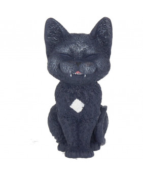 Figurine chat gothique Count Kitty