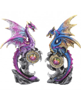 Duo figurines dragon Realm Protectors