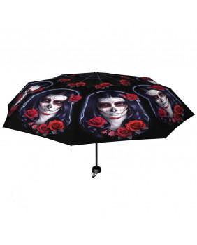 Parapluie gothique Sugar Skull