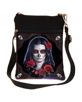 Sacoche gothique Sugar Skull