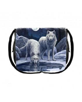 Sac bandoulière loups Guerrier de l'hiver