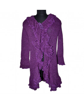 Gilet fashion violet