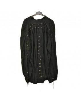 Chemise gothique médiévane à laçages