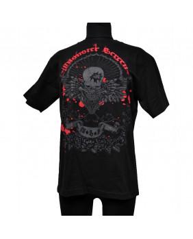 Tee shirt rock skull