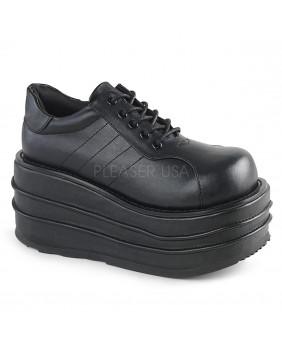 Demonia TEMPO-08 chaussures plateformes Gothiques noires