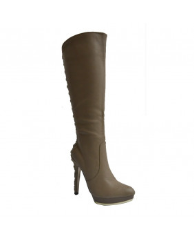 New Rock 39011-11 TAUPE bottes Fashion rock taupes en imitation cuir