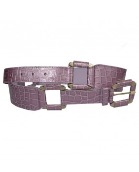 Ceinture lilas fashion rock