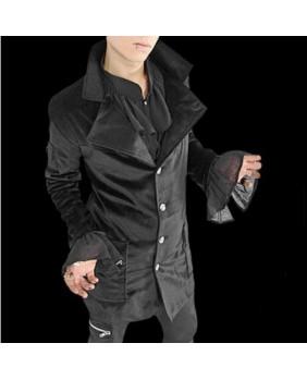 Veste gothique homme en velours