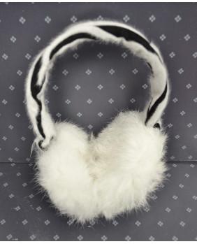 Cache oreilles zébré gothique lolita