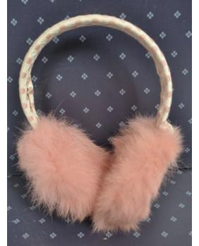 Cache oreilles rose