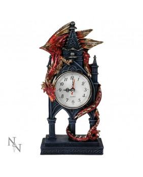 Horloge dragon gothique Time Guardian