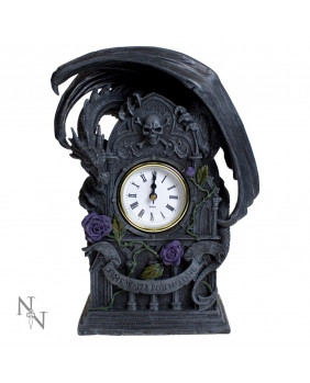 Horloge gothique Dragon Beauty