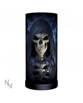 Lampe squelette gothique The Reaper Round