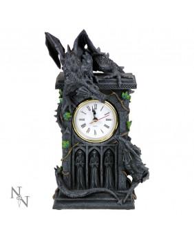 Horloge gothique Duelling Dragons