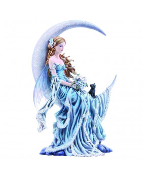 Figurine féerique bleue Wind Moon