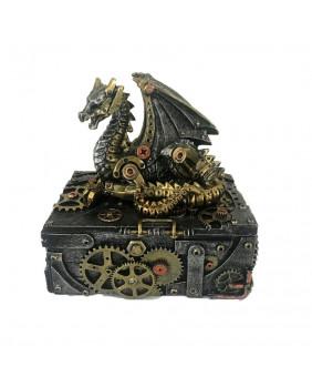 Boite steampunk dragon Sectrets of the Machine