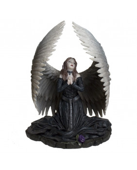 Figurine ange gothique Prayer for the fallen