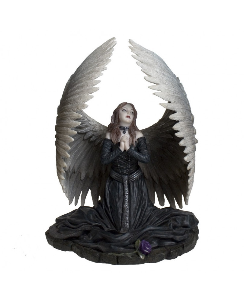 Figurine ange gothique Prayer for the fallen