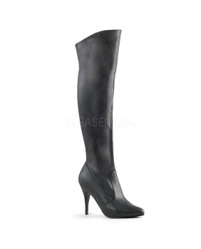 Pleaser VANITY-2013 bottes fashion noires à talons aiguilles