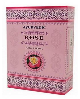 Encens Ayurvedic de Rose