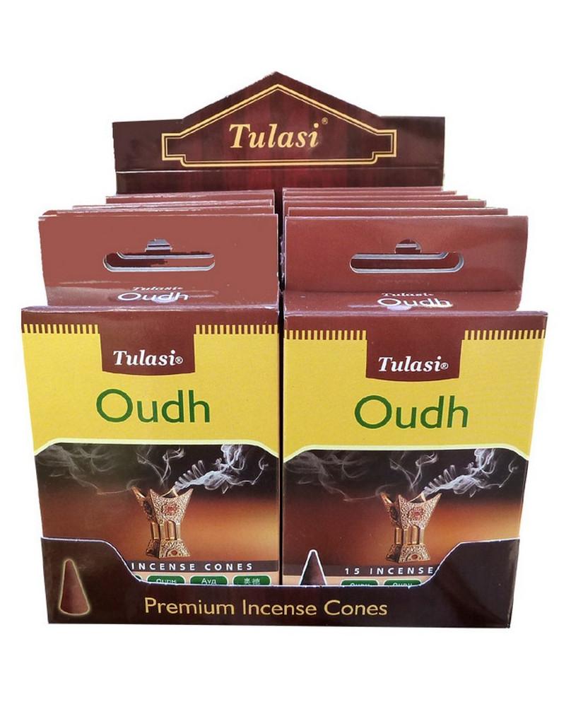 Encens cône bois de Oud Tulasi