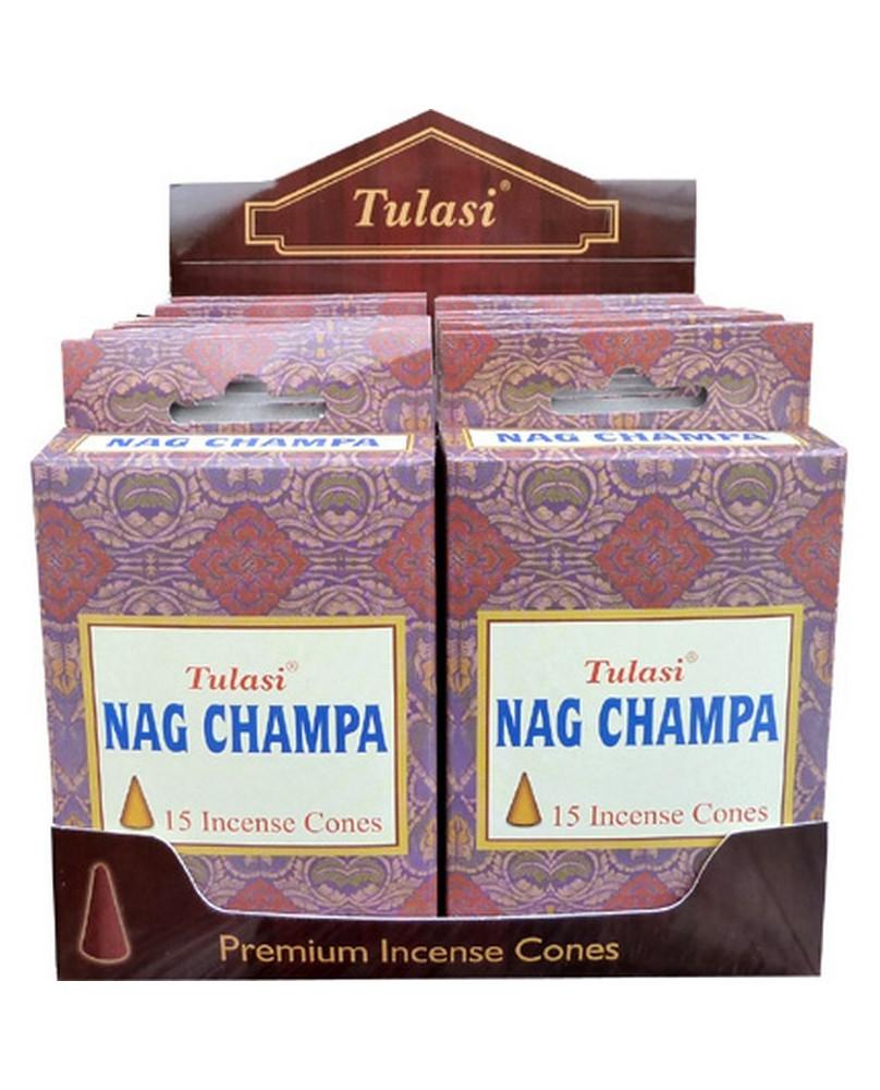 Encens cône Nag Champa Tulasi