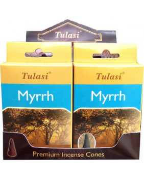 Encens cône Myrte Tulasi