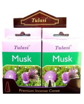 Encens cône Musc Tulasi
