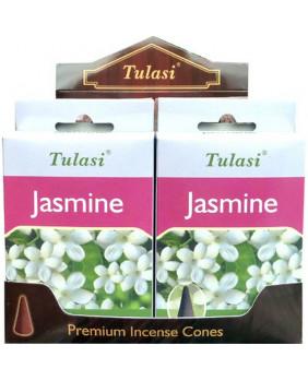 Encens cône Jasmin Tulasi