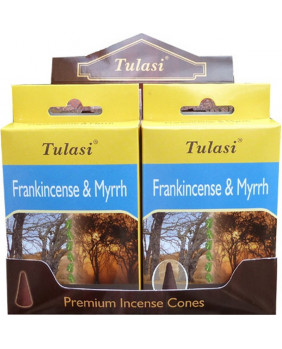 Encens cône Oliban & Myrte Tulasi