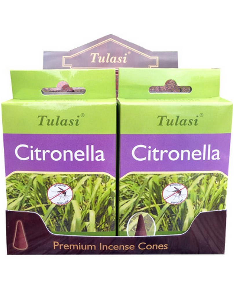 Encens cône Citronnelle Tulasi