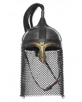 Casque équestre médiéval
