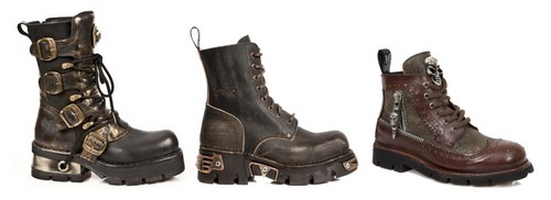 Botes steampunk homme