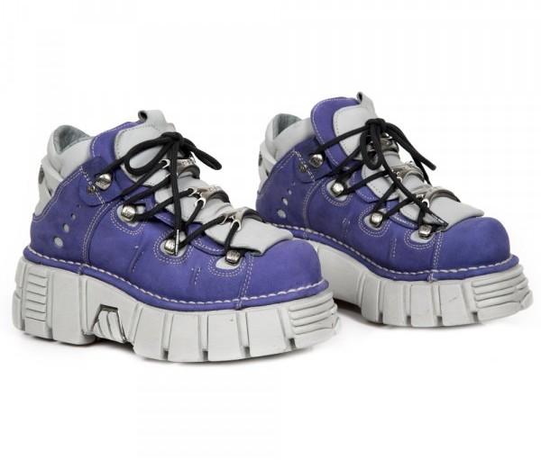 Chaussures compensées gothiques New Rock femme