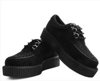 Chaussures creepers noires