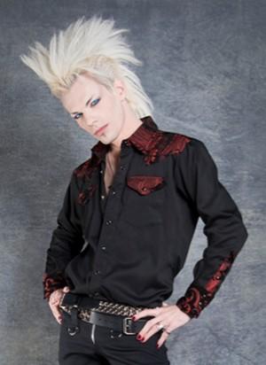 chemise gothique rock