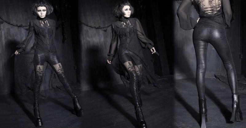 Legging gothique