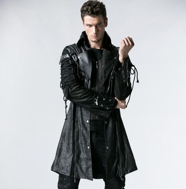 Manteau gothique pour hommes