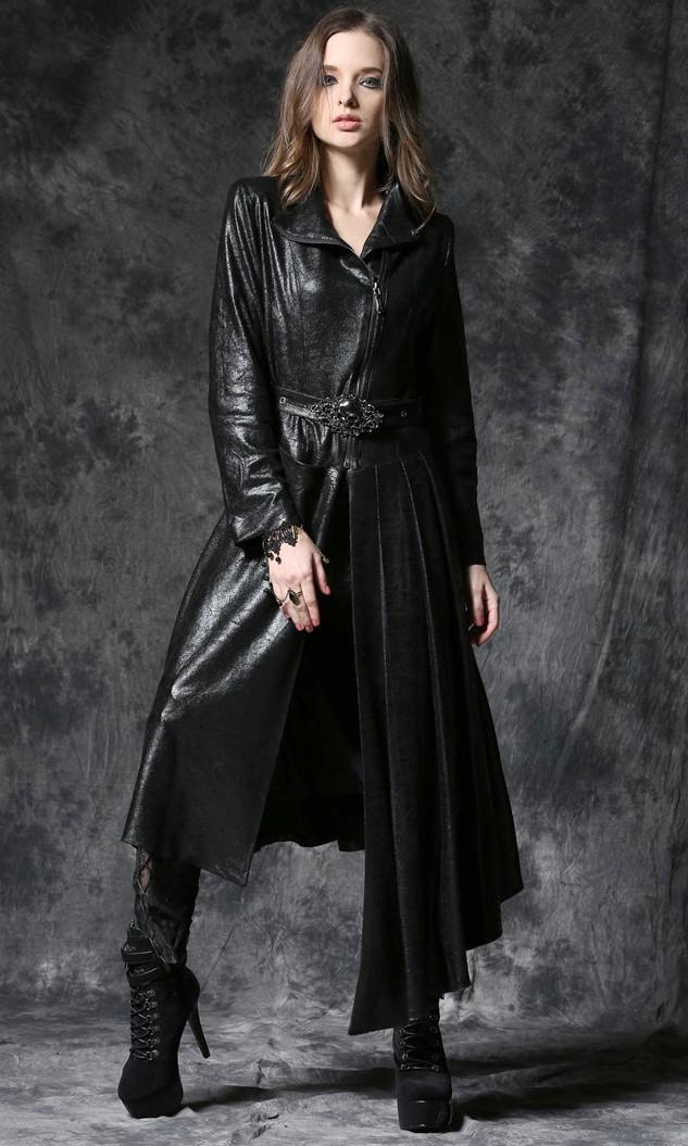 Manteau gothique long femme
