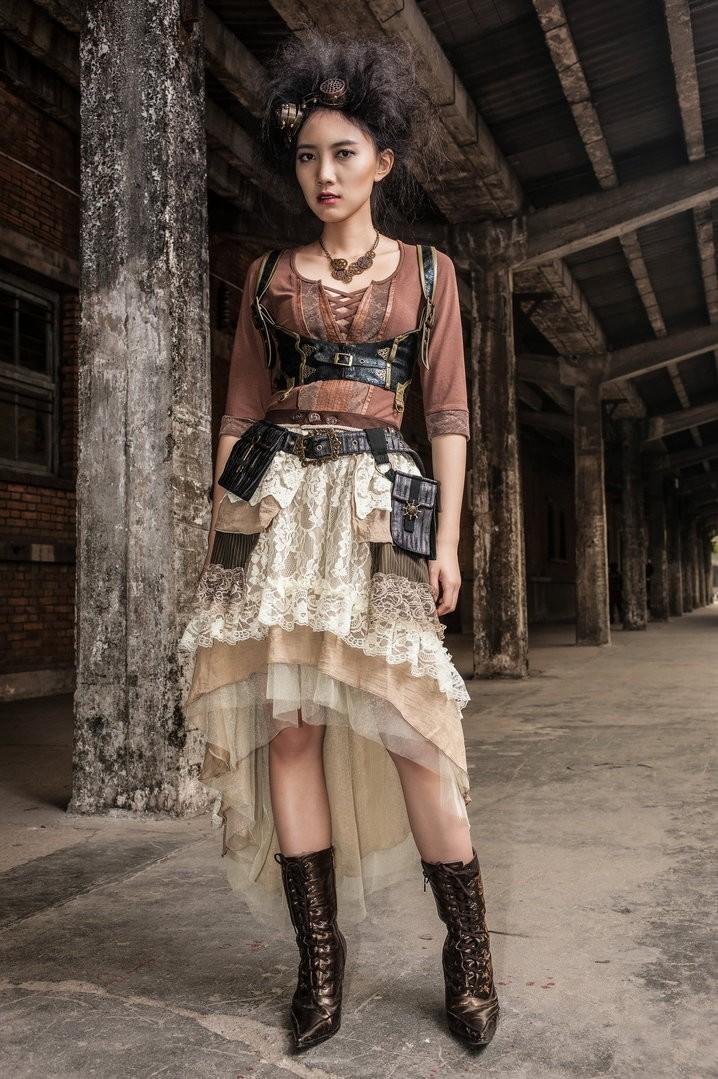 Mode steampunk femme