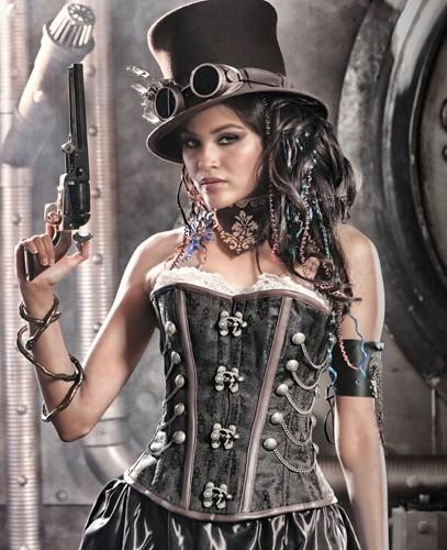 Vêtements steampunk femme