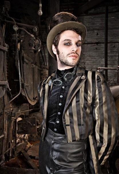 Vêtements steampunk homme